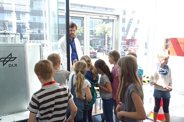 Kooperation mit dem DLR school lab
