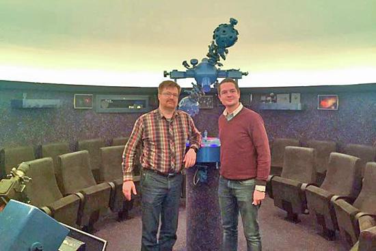 Kooperation mit dem Olbers-Planetarium
