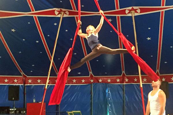 Der Zirkus El Dorado zu Gast in Leeste