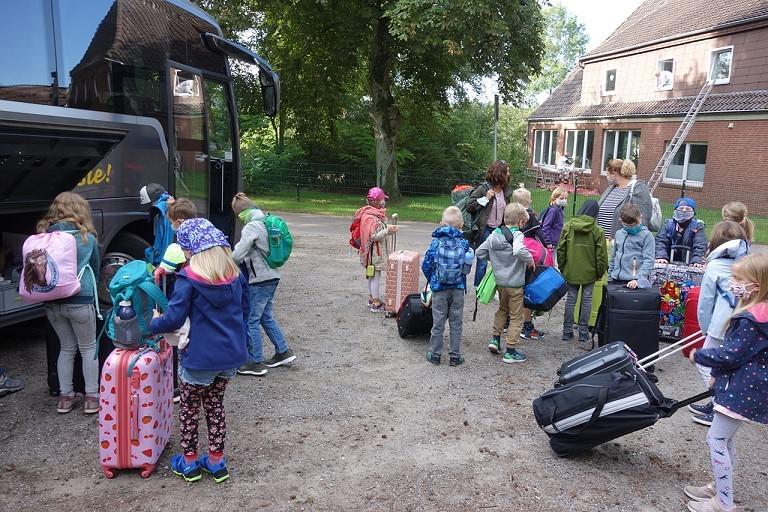 Klassenfahrt 2a Schullandheim Wöpse 2020