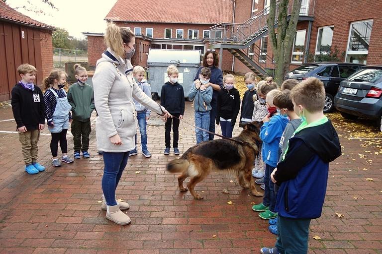 Tierischer Besuch im Rahmen des Sachunterrichts